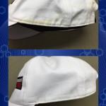 帽子の汗 黄ばみ